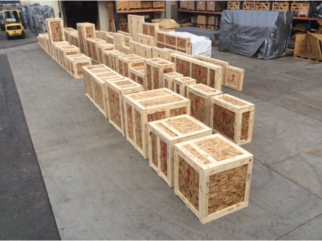 Industrial Shipping Crates