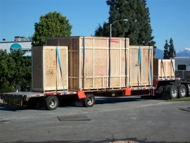 Commercial Shipping Crates