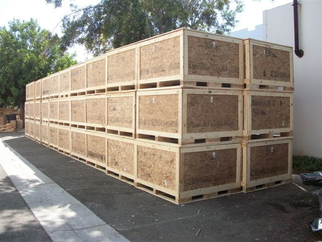 International Shipping Crates